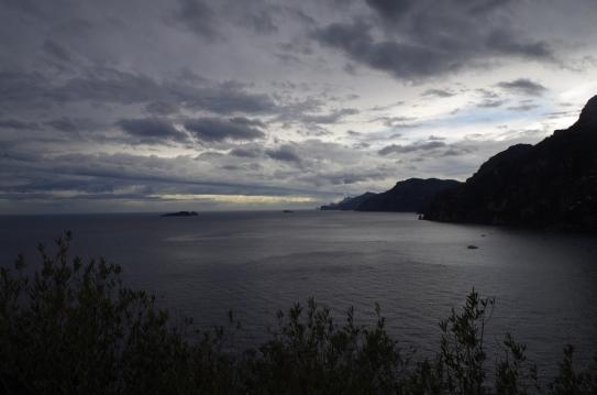 Amalfi coast but not like the brochures
